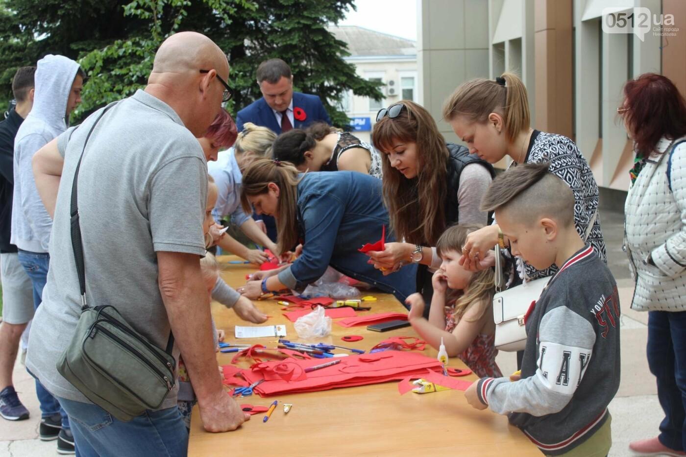 В Николаеве прошла акция по изготовлению маков, - ФОТО , фото-14
