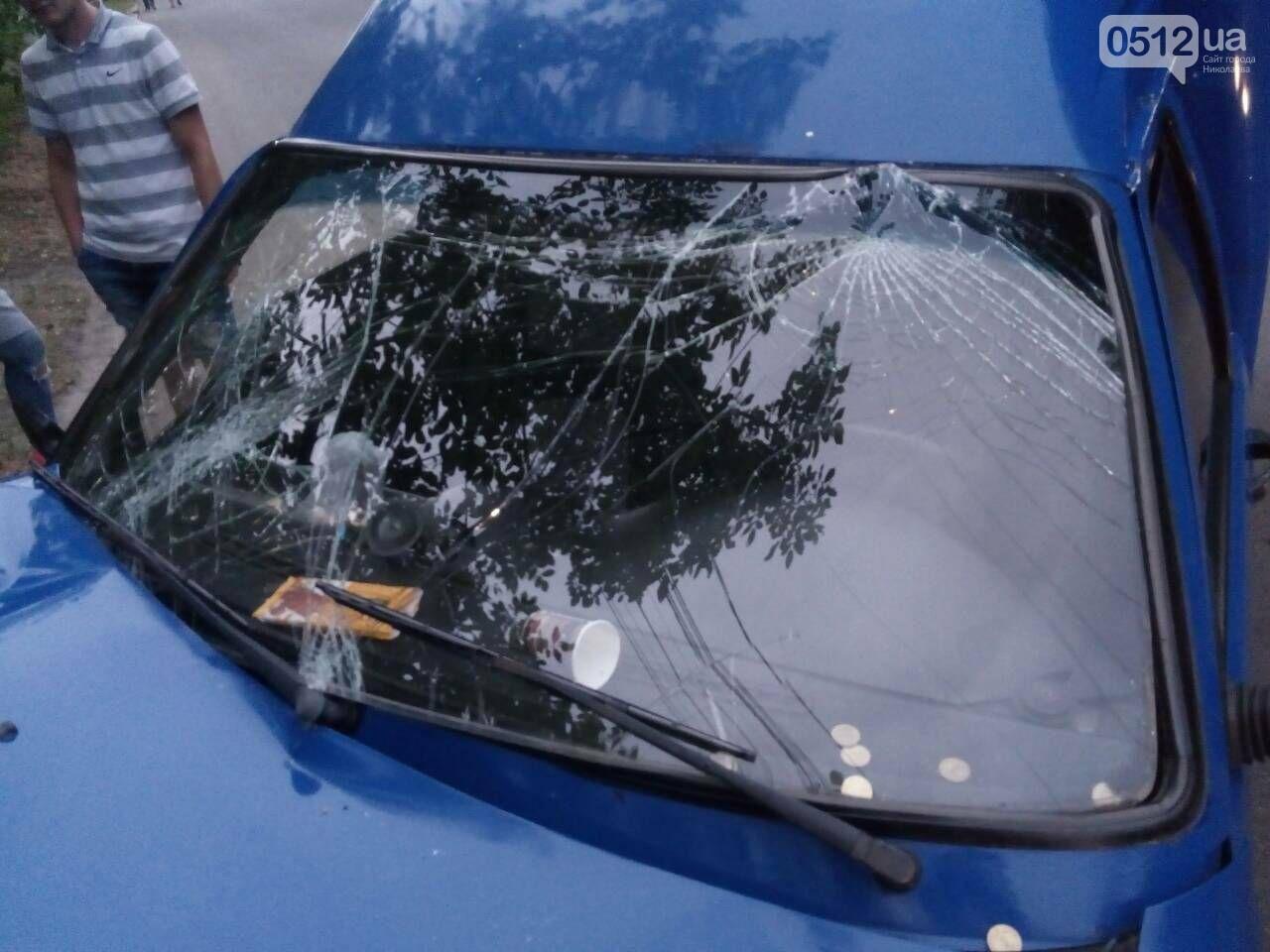 В Николаеве ИЖ врезался в дерево: пострадали пассажиры, - ФОТО, фото-1