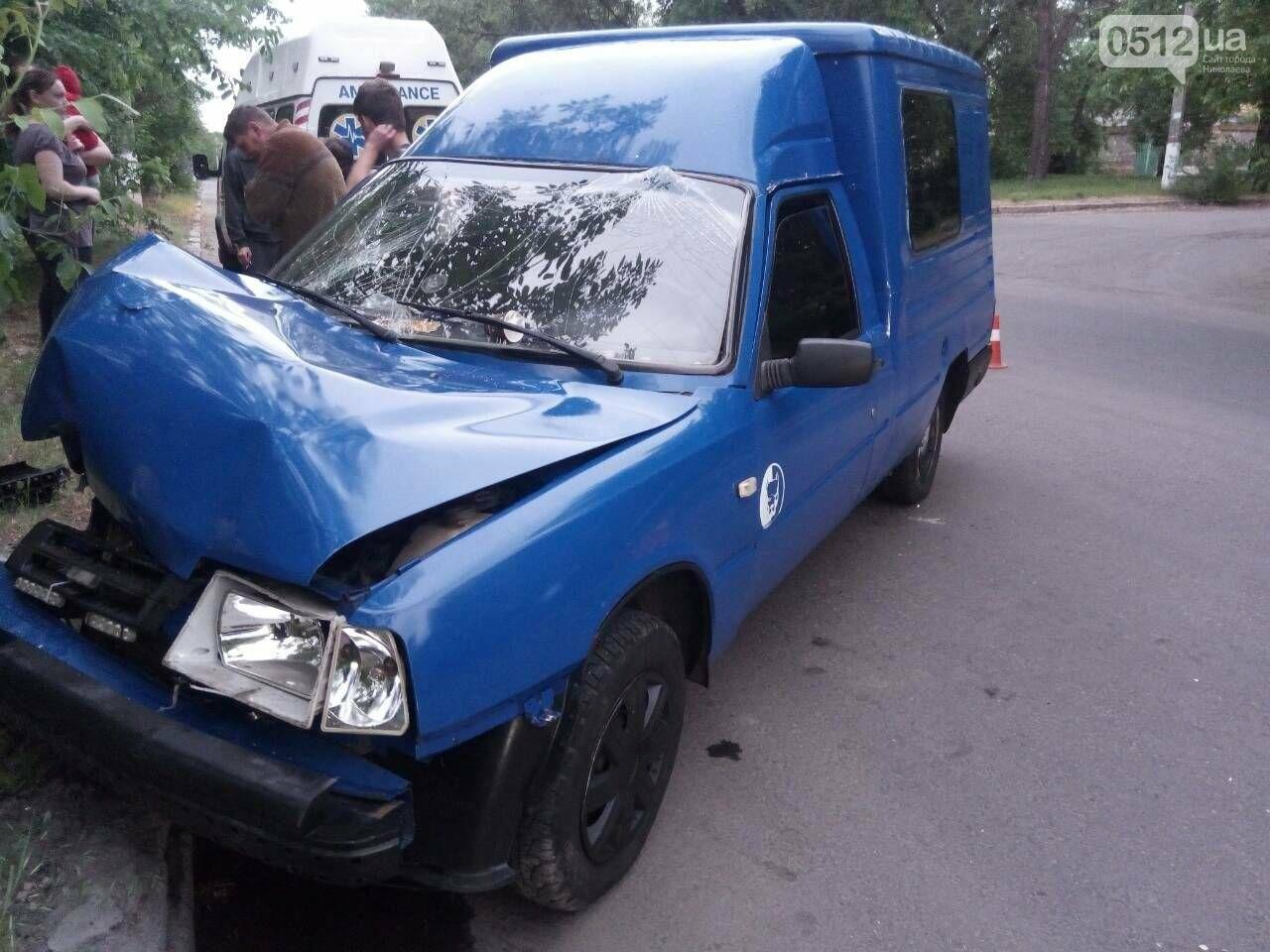 В Николаеве ИЖ врезался в дерево: пострадали пассажиры, - ФОТО, фото-2