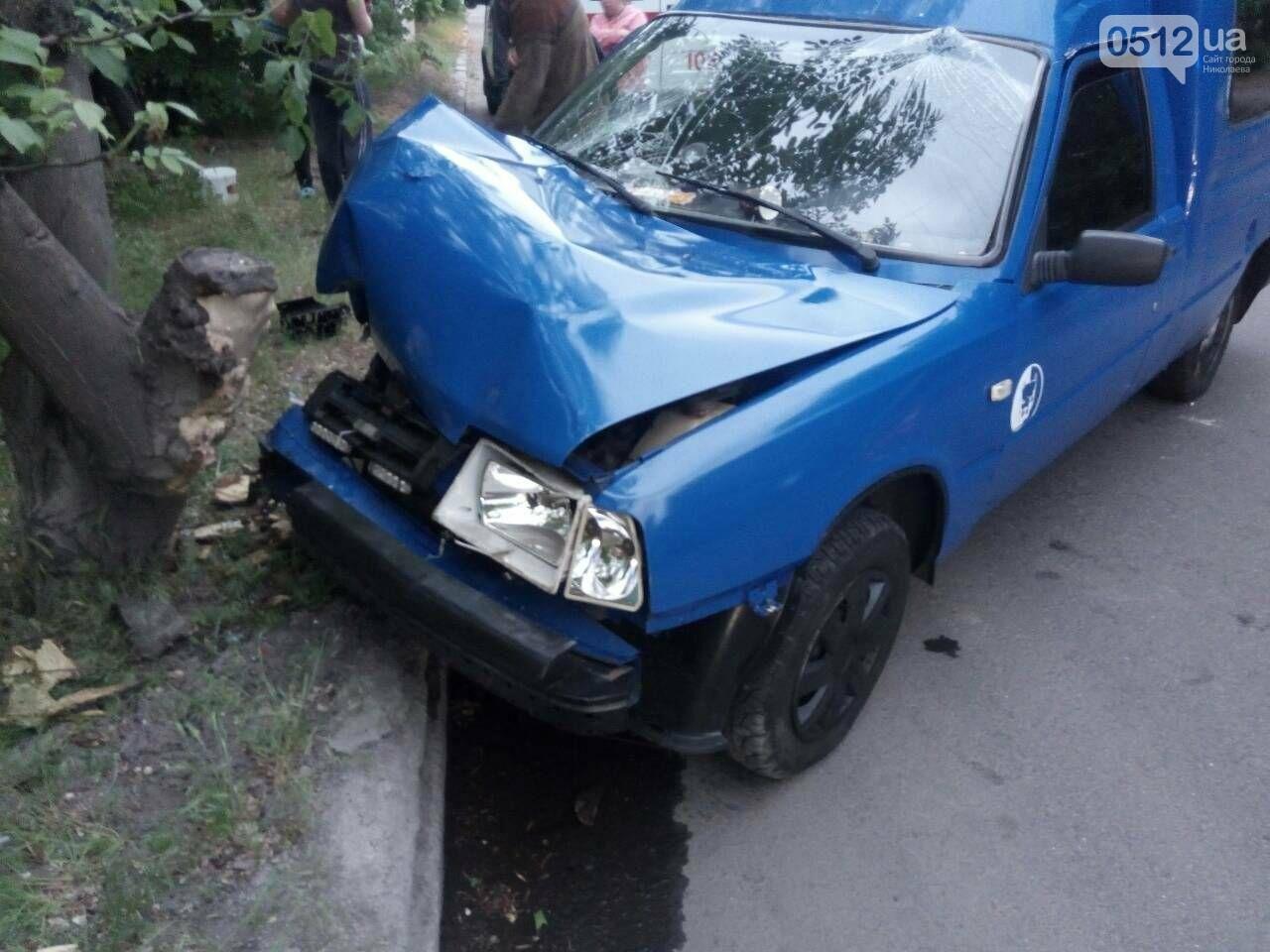 В Николаеве ИЖ врезался в дерево: пострадали пассажиры, - ФОТО, фото-4