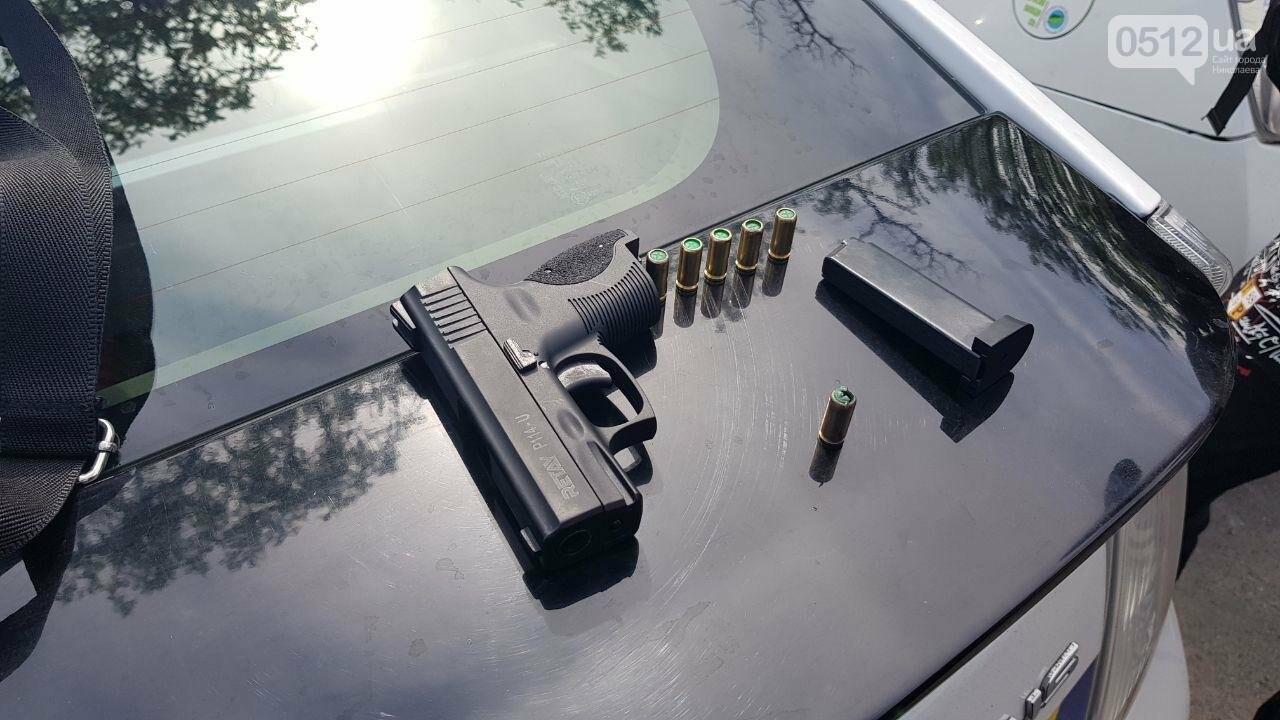В Николаеве двое парней устроили стрельбу на автовокзале, - ФОТО, фото-1