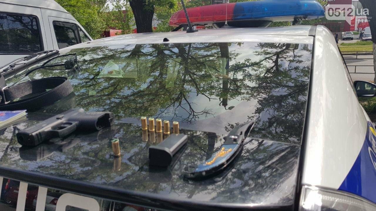 В Николаеве двое парней устроили стрельбу на автовокзале, - ФОТО, фото-2