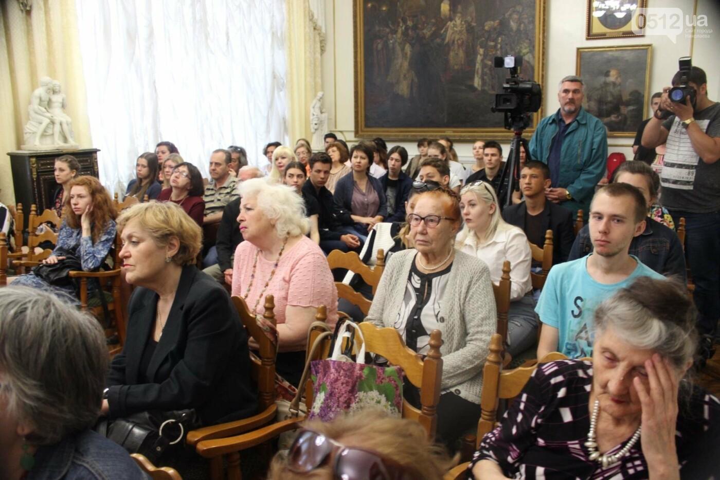В Николаеве презентовали работы израильских художников к 175-ти летию Верещагина, - ФОТО, фото-3
