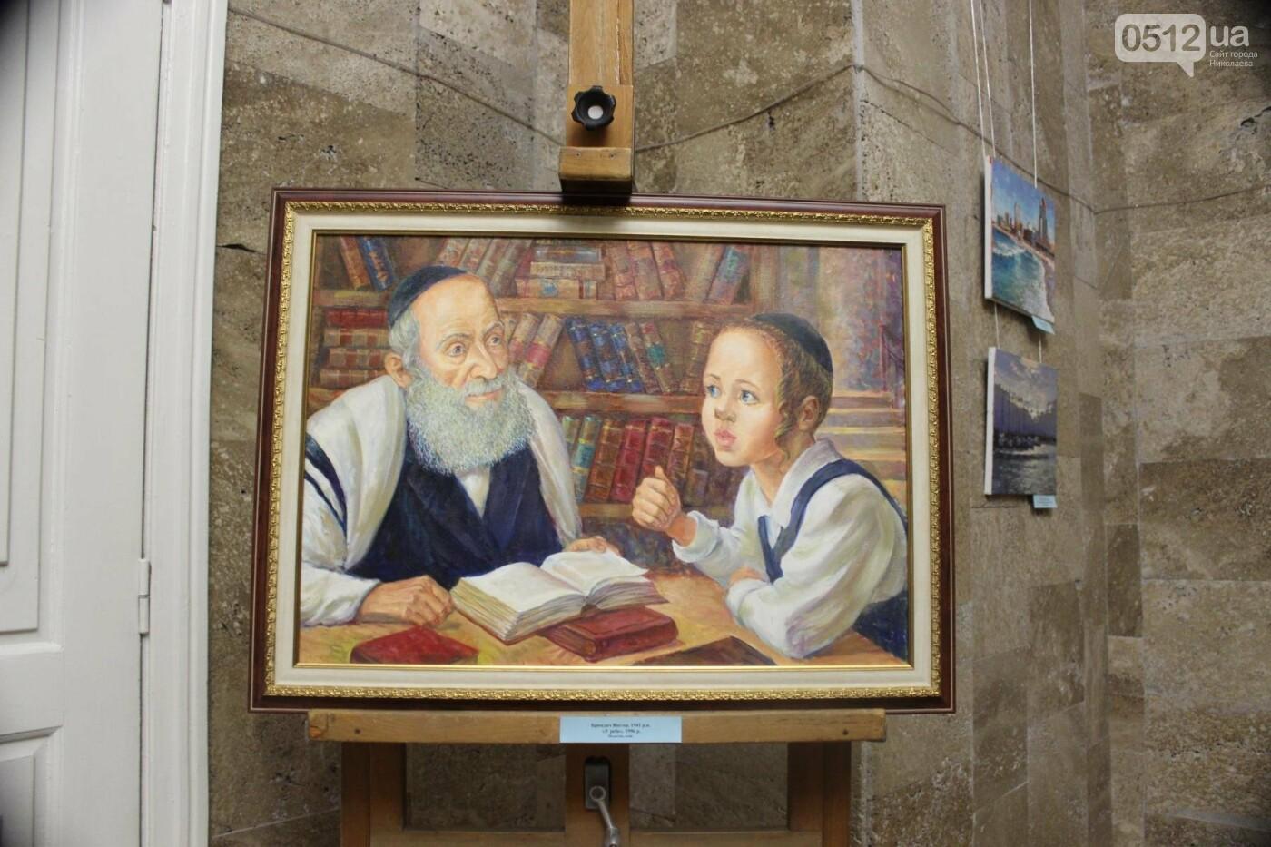 В Николаеве презентовали работы израильских художников к 175-ти летию Верещагина, - ФОТО, фото-16