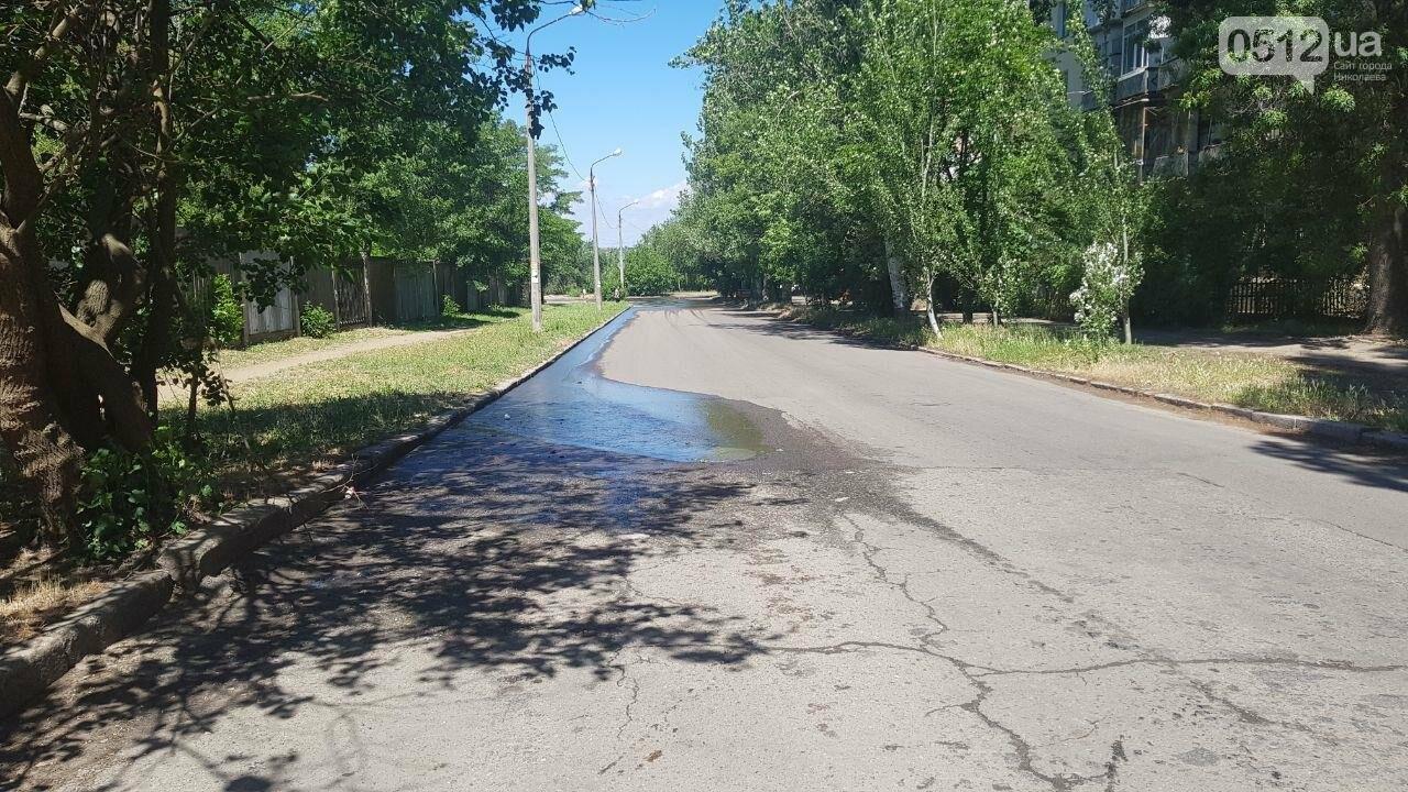 В Николаеве в очередной раз случился прорыв канализации, - ФОТО, ВИДЕО, фото-2