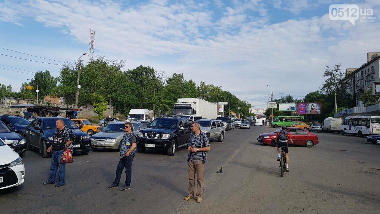 В Николаеве развели мосты для военного корабля, - ФОТО, ВИДЕО, фото-4