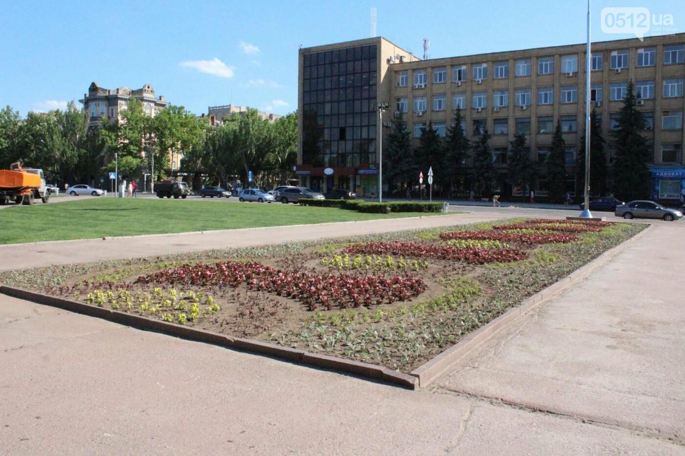 Соборную площадь в Николаеве готовят к приезду Петра Порошенко, - ФОТО, фото-5