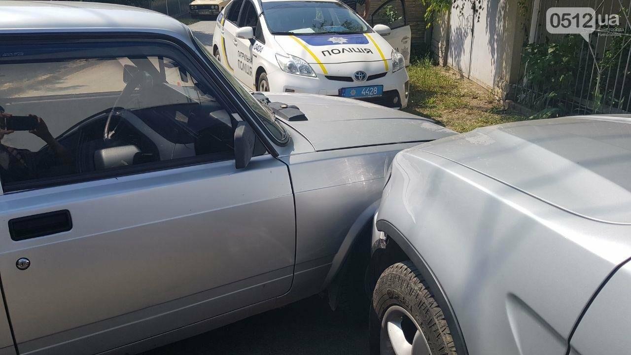 """В Николаеве не поделили дорогу полицейский автомобиль УМВД и """"БМВ"""", - ФОТО, фото-2"""