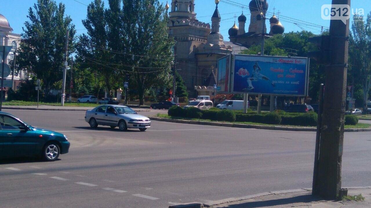 В центре Николаеве не работают светофоры, - ФОТО, фото-3