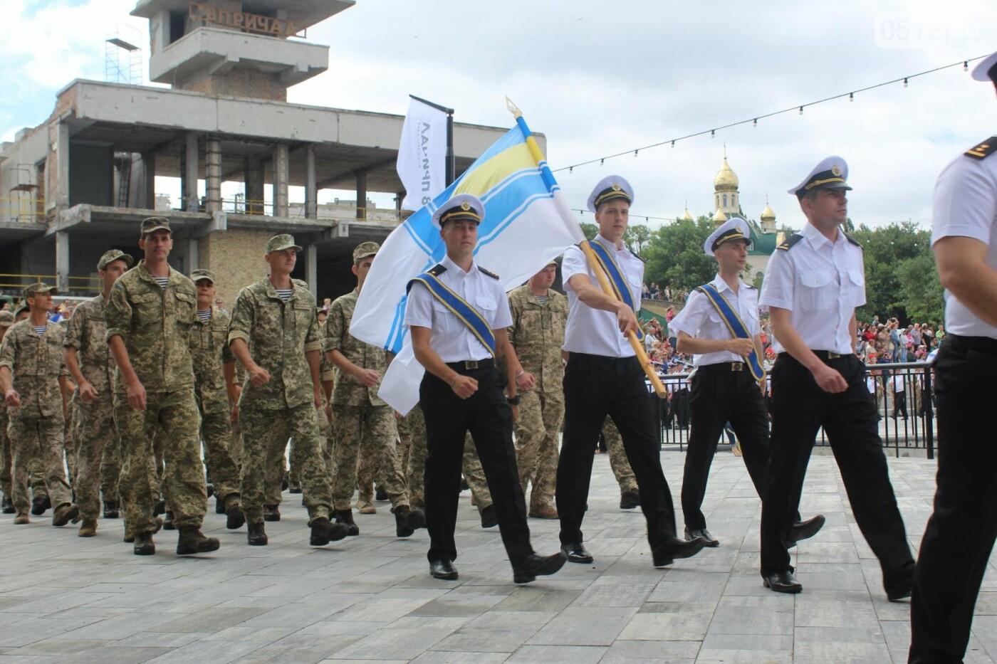 Полевая кухня, марш военных и выставка техники: как в Николаеве отмечали День ВМС Украины, фото-7