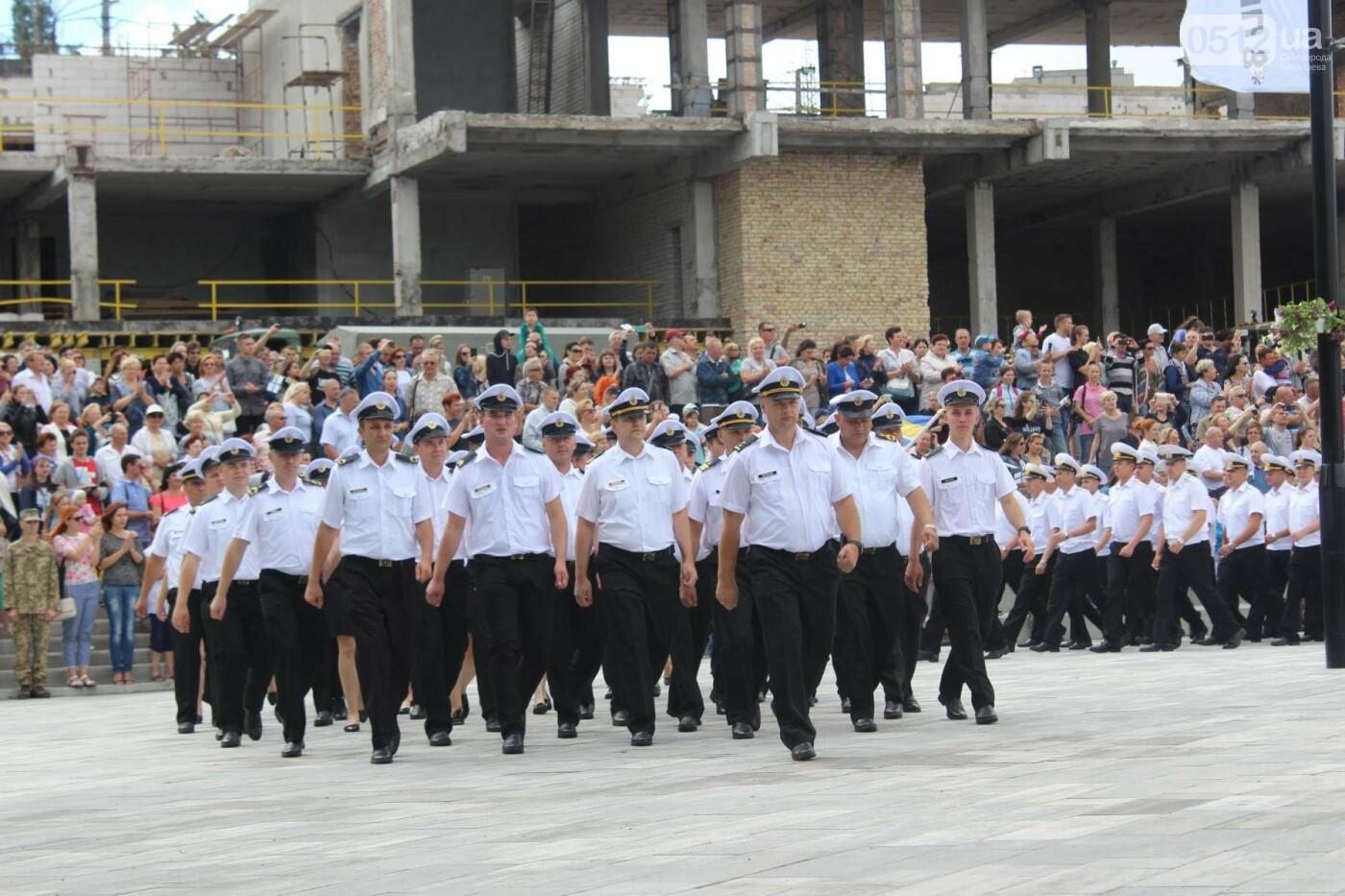 Полевая кухня, марш военных и выставка техники: как в Николаеве отмечали День ВМС Украины, фото-9
