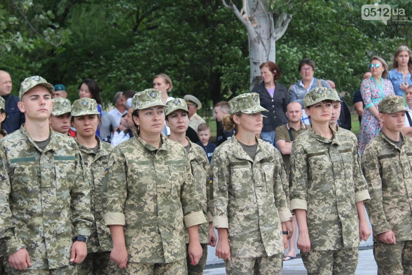 Полевая кухня, марш военных и выставка техники: как в Николаеве отмечали День ВМС Украины, фото-2