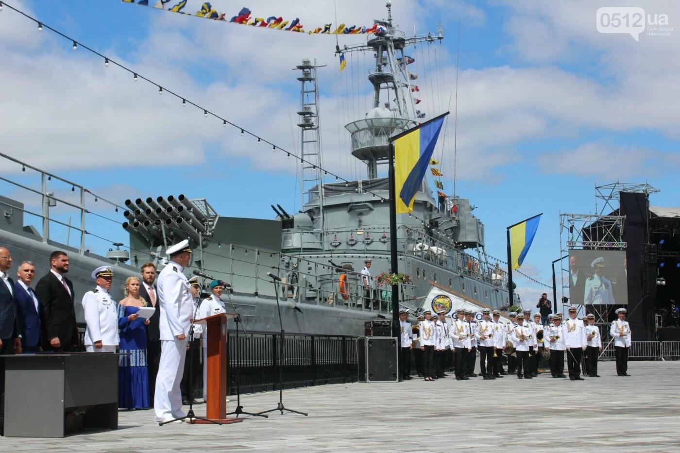 Полевая кухня, марш военных и выставка техники: как в Николаеве отмечали День ВМС Украины, фото-19