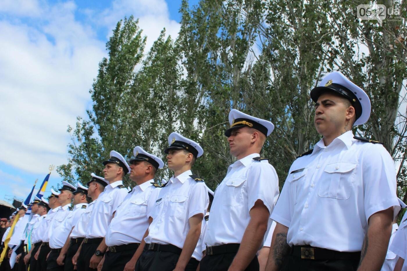 Полевая кухня, марш военных и выставка техники: как в Николаеве отмечали День ВМС Украины, фото-14