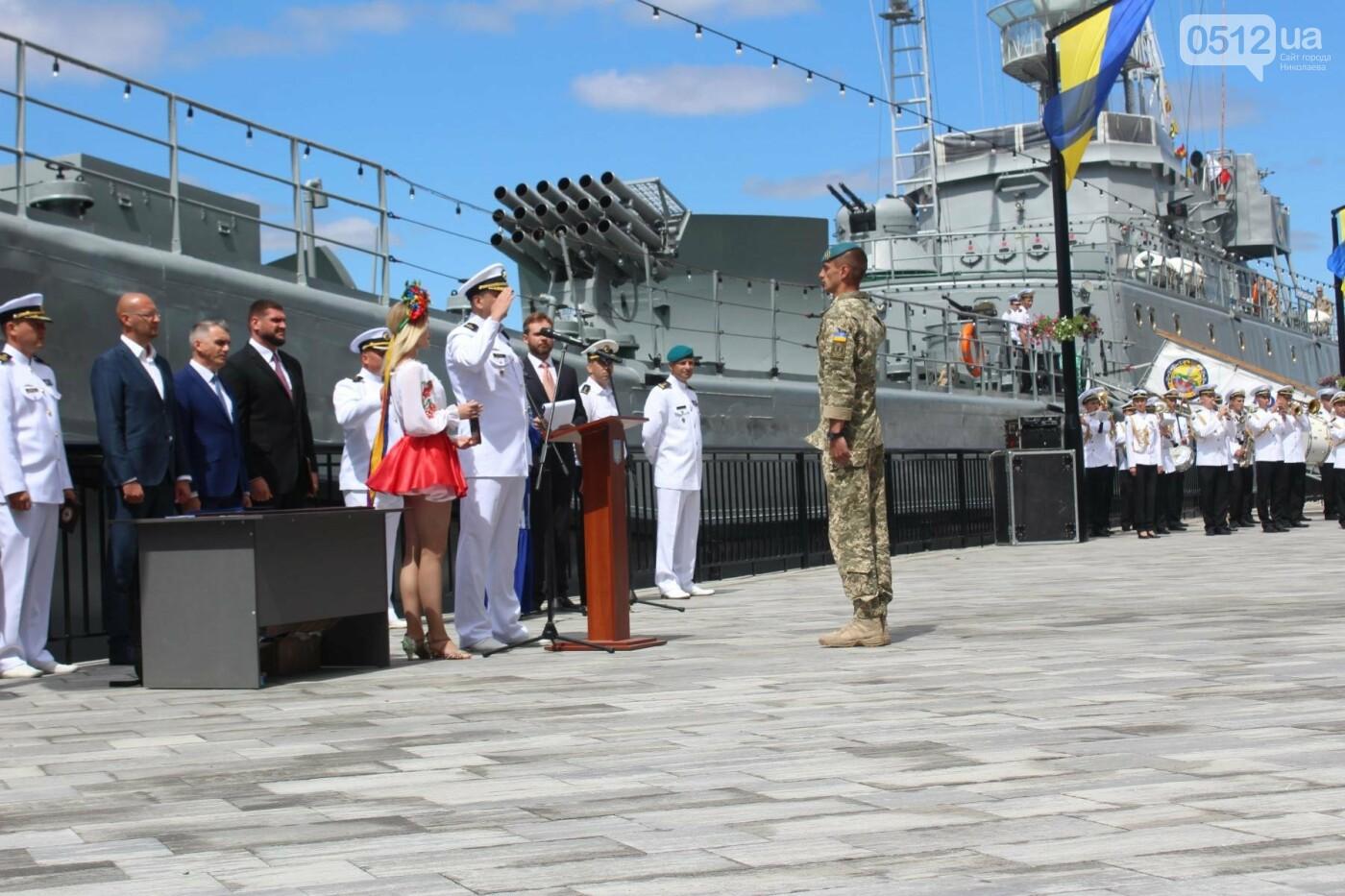 Полевая кухня, марш военных и выставка техники: как в Николаеве отмечали День ВМС Украины, фото-13