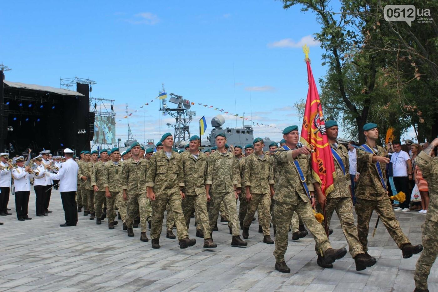 Полевая кухня, марш военных и выставка техники: как в Николаеве отмечали День ВМС Украины, фото-26