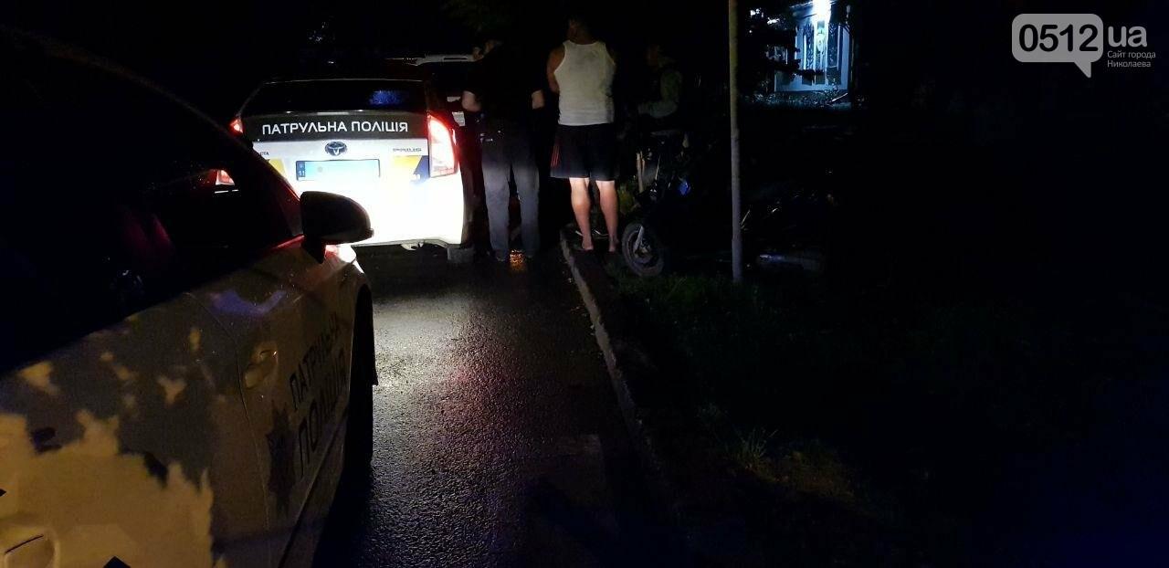 Без документов и навеселе: патрульные остановили в Николаеве пьяного мопедиста, - ФОТО , фото-3