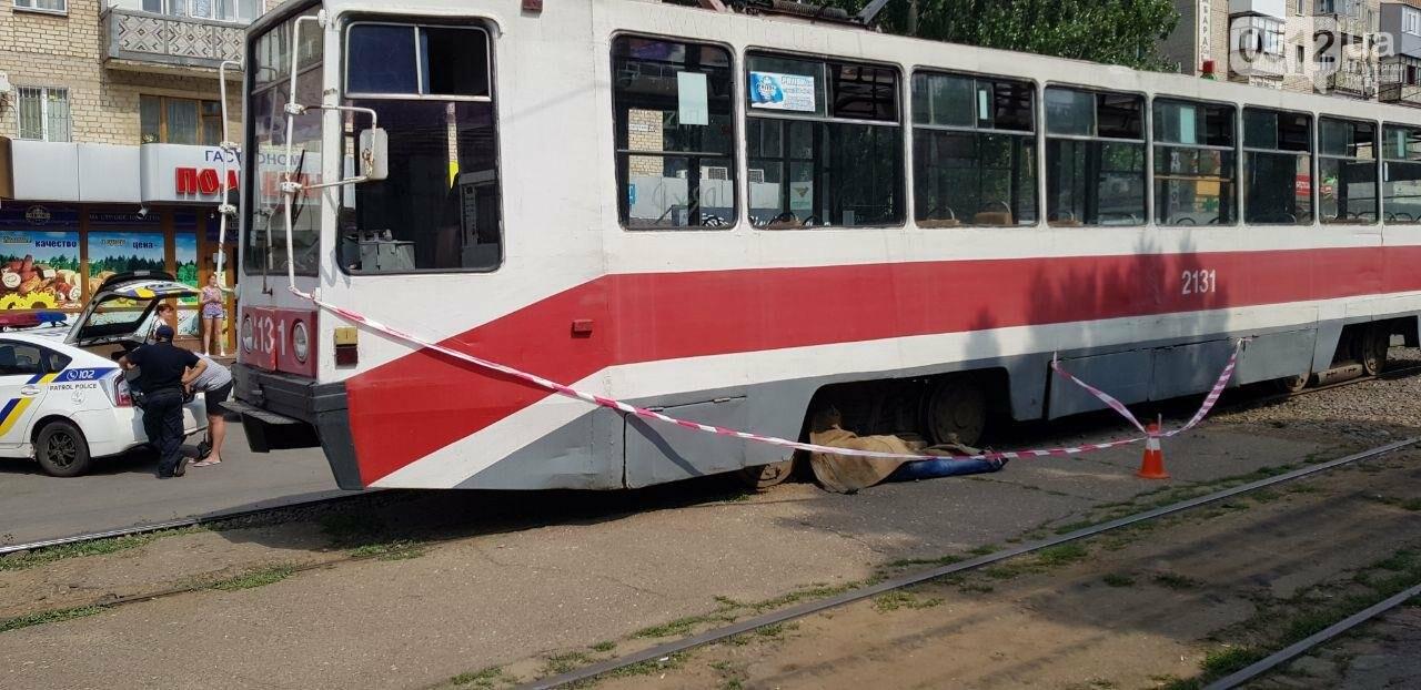 В Николаеве трамвай переехал мужчину, - ФОТО, ВИДЕО 18+, фото-4