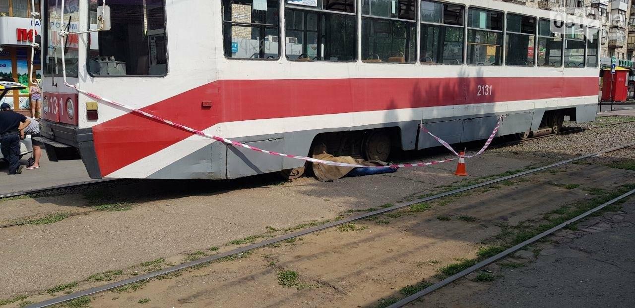 В Николаеве трамвай переехал мужчину, - ФОТО, ВИДЕО 18+, фото-2