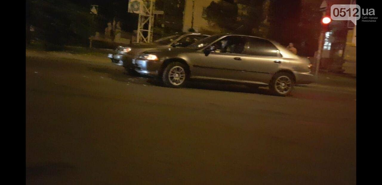 В Николаеве столкнулись две легковушки, - ФОТО, фото-1