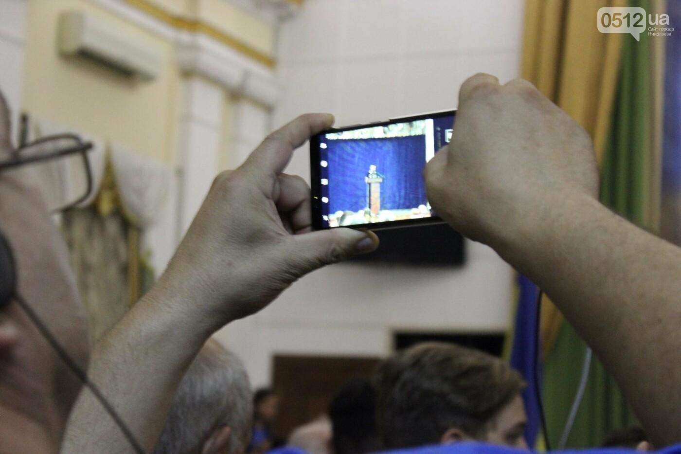 "В Николаеве глава ""Нацкорпуса"" выступил в зале с коммунистическими звездами, - ФОТО, ВИДЕО , фото-12"