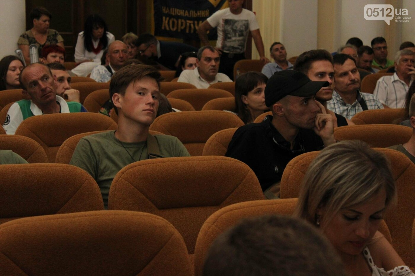 "В Николаеве глава ""Нацкорпуса"" выступил в зале с коммунистическими звездами, - ФОТО, ВИДЕО , фото-13"