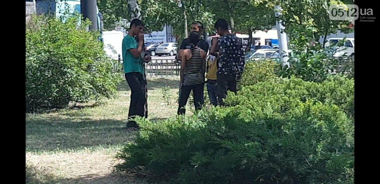 В Николаеве возле Автовокзала поселились ромы, - ФОТО, фото-1