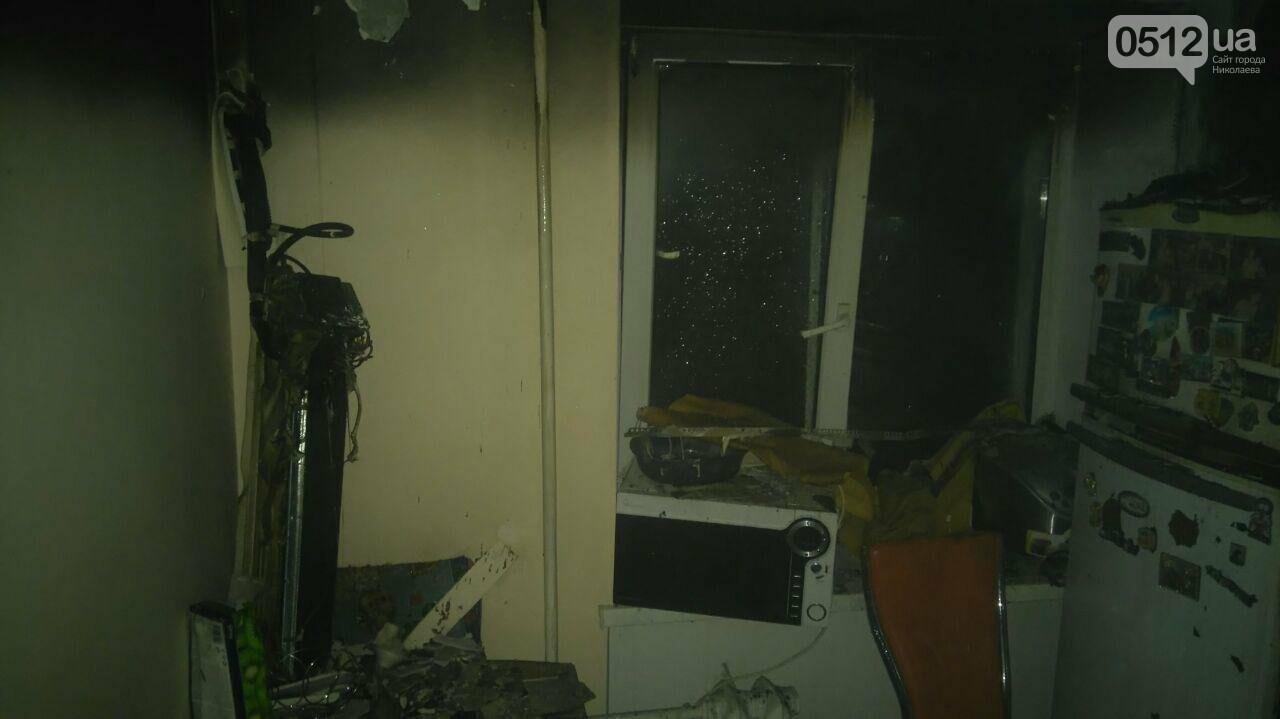 В Николаеве горела квартира в многоэтажном доме, - ФОТО, фото-3