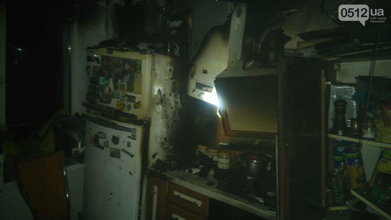 В Николаеве горела квартира в многоэтажном доме, - ФОТО, фото-4