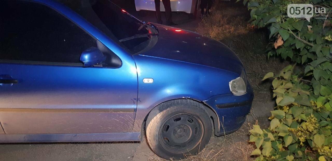 В Николаеве водитель пытался скрыться от полиции, но не справился с управлением, - ФОТО, ВИДЕО , фото-3