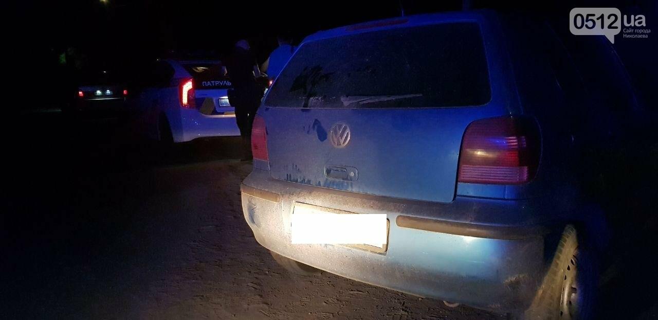 В Николаеве водитель пытался скрыться от полиции, но не справился с управлением, - ФОТО, ВИДЕО , фото-5