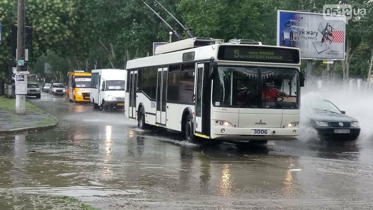 В Николаеве затопило проспект, - ФОТО, ВИДЕО , фото-3