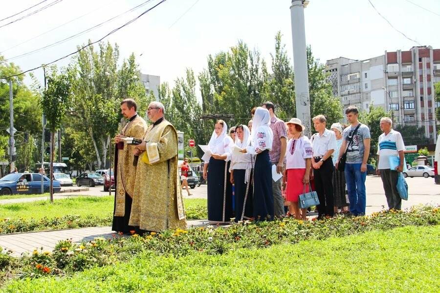 Николаевцы провели литургию и молебен в честь 1030-летия крещения Киевской Руси, - ФОТО, фото-8