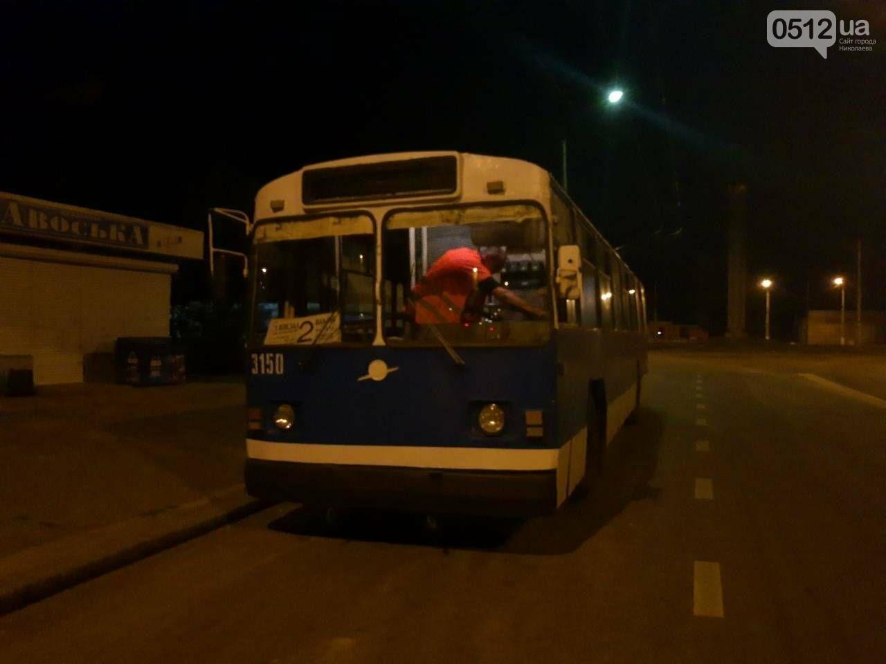 В Николаеве водитель троллейбуса №2 захлопнул двери и чуть не переехал ребенка, - ФОТО, фото-1