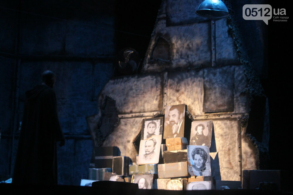 """На сцене русдрама днепровские гости показали спектакль """"Забыть Герострата"""", - ФОТО, фото-3"""