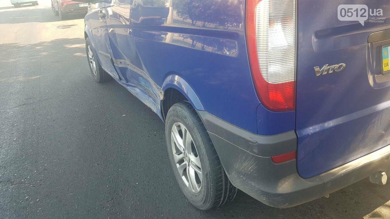 В центре Николаева столкнулись два автомобиля - образовалась огромная пробка, - ФОТО, фото-1