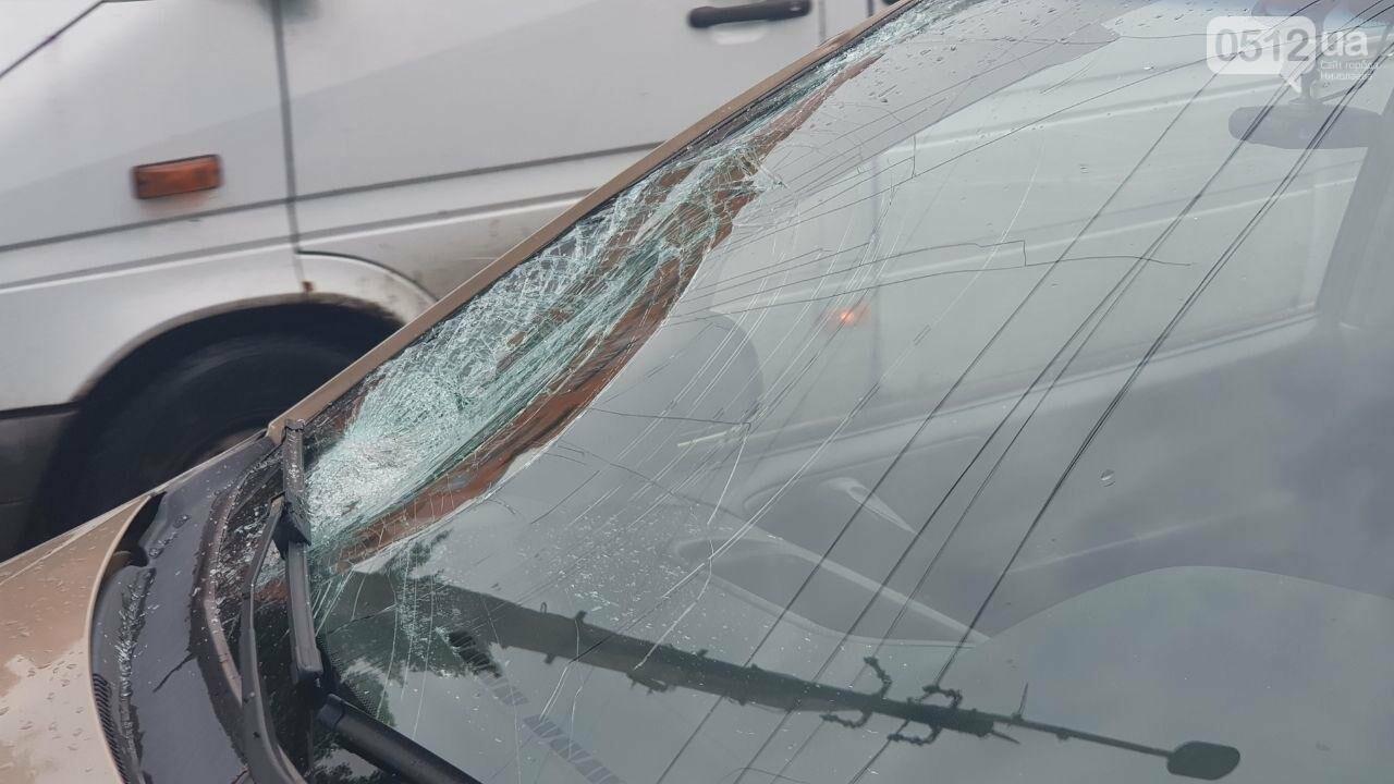 В центре Николаева Chevrolet сбил пешехода - пострадавшего госпитализировали, - ФОТО, ВИДЕО, фото-5