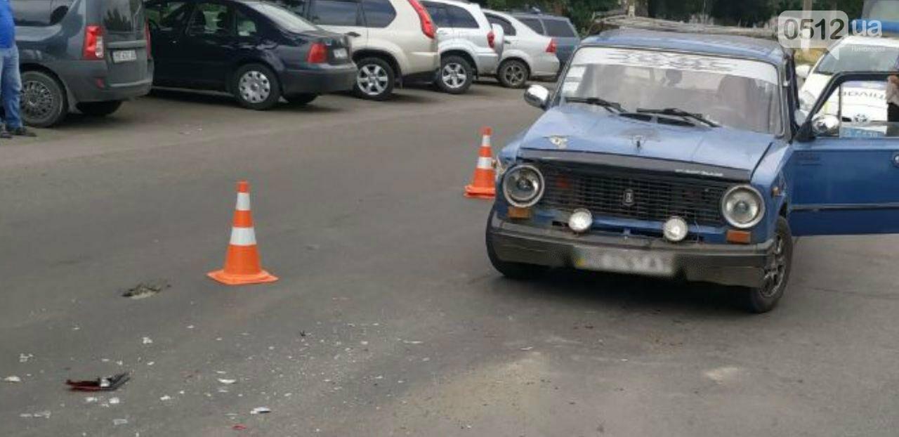 В Николаеве столкнулись ВАЗ и Mitsubishi, - ФОТО, фото-2