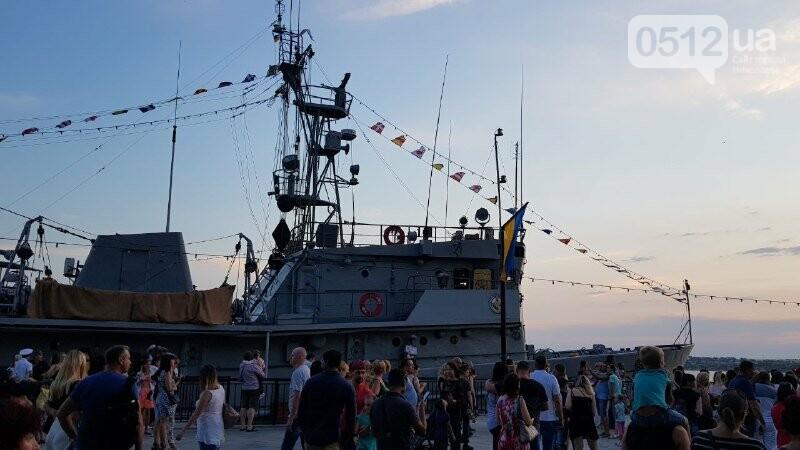 В Николаеве громко отметили день ВМС Украины, - ФОТО, ВИДЕО, фото-7