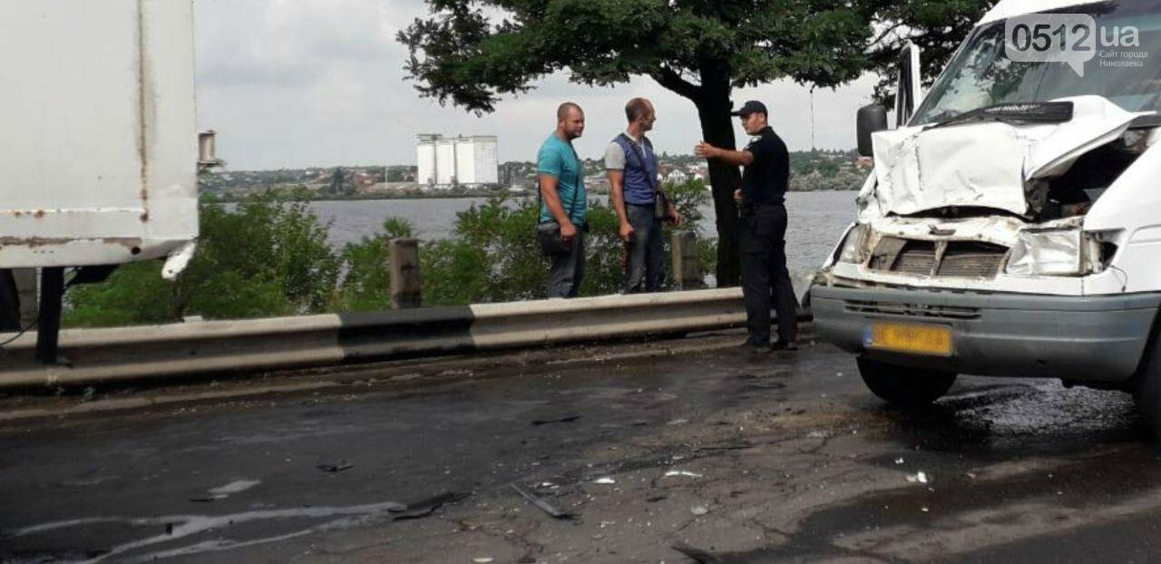На Варваровском мосту произошло два ДТП, - ФОТО, фото-6