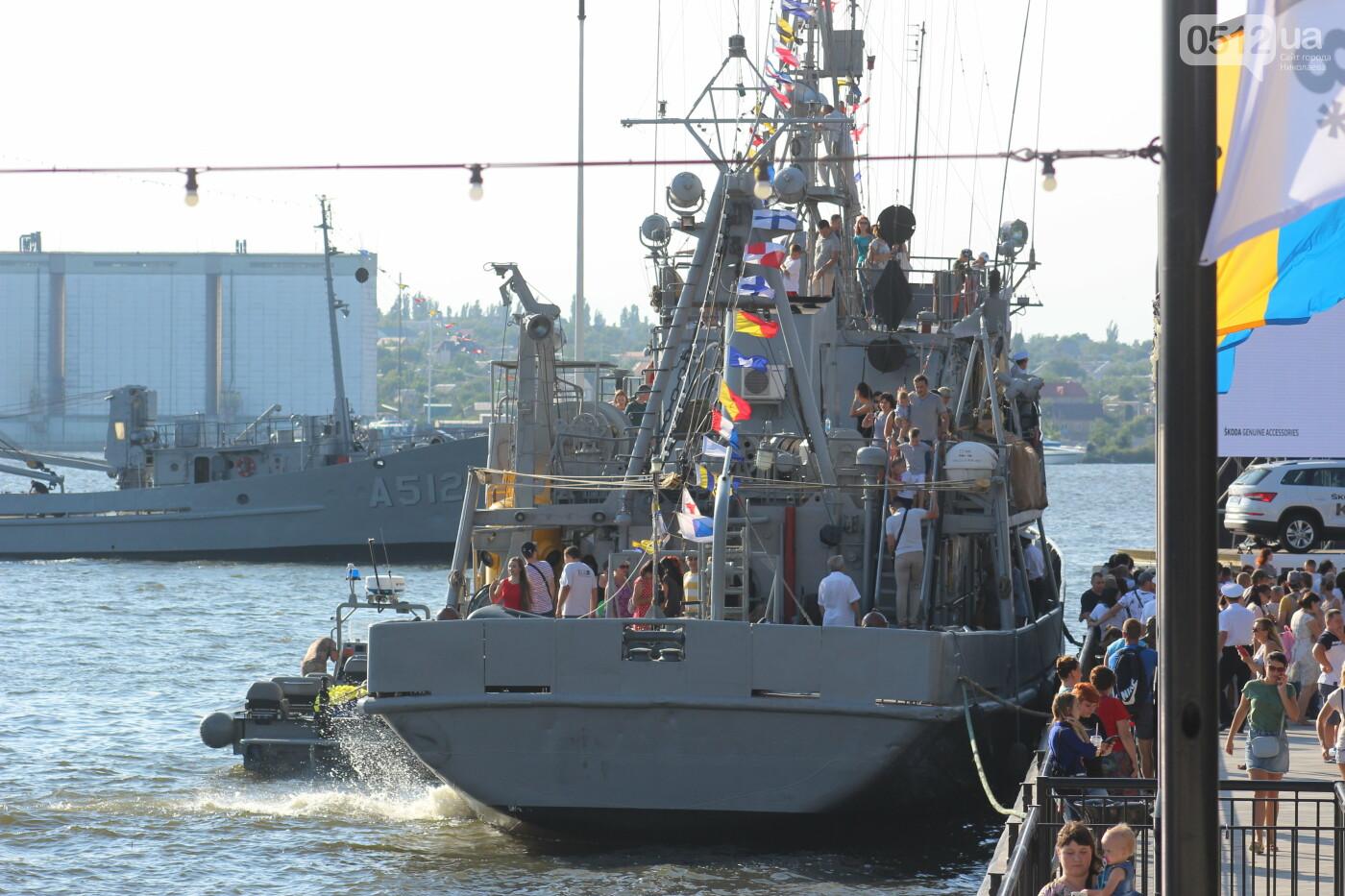 В Николаеве громко отметили день ВМС Украины, - ФОТО, ВИДЕО, фото-34