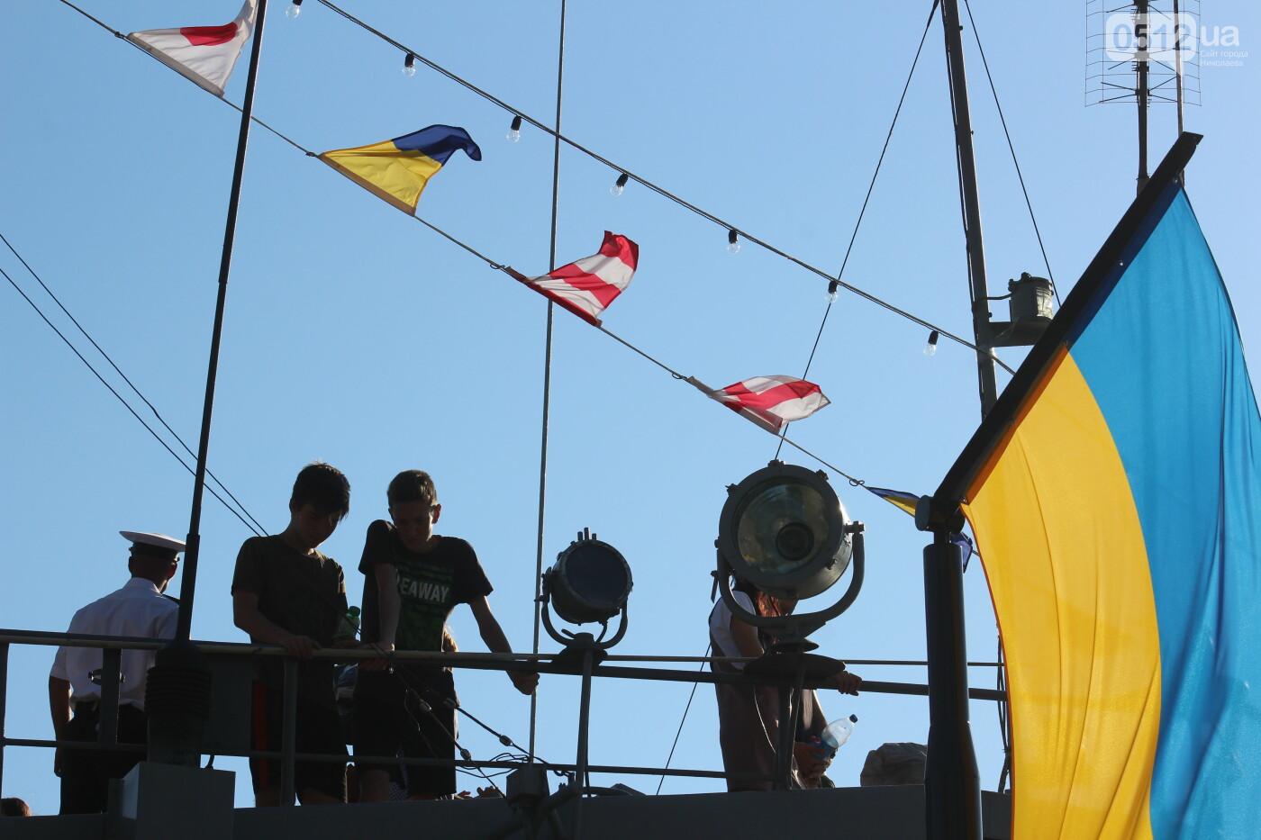 В Николаеве громко отметили день ВМС Украины, - ФОТО, ВИДЕО, фото-30