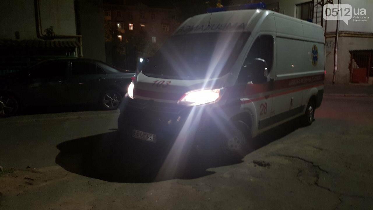 Ночью в Николаеве мужчине стало плохо после выпитого - пришлось вызывать скорую, - ФОТО, ВИДЕО, фото-4