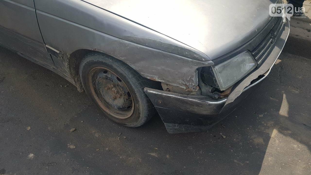 Водитель Peugeot, столкнувшийся в Николаеве напротив клуба, оказался пьян, - ФОТО, ВИДЕО, фото-5