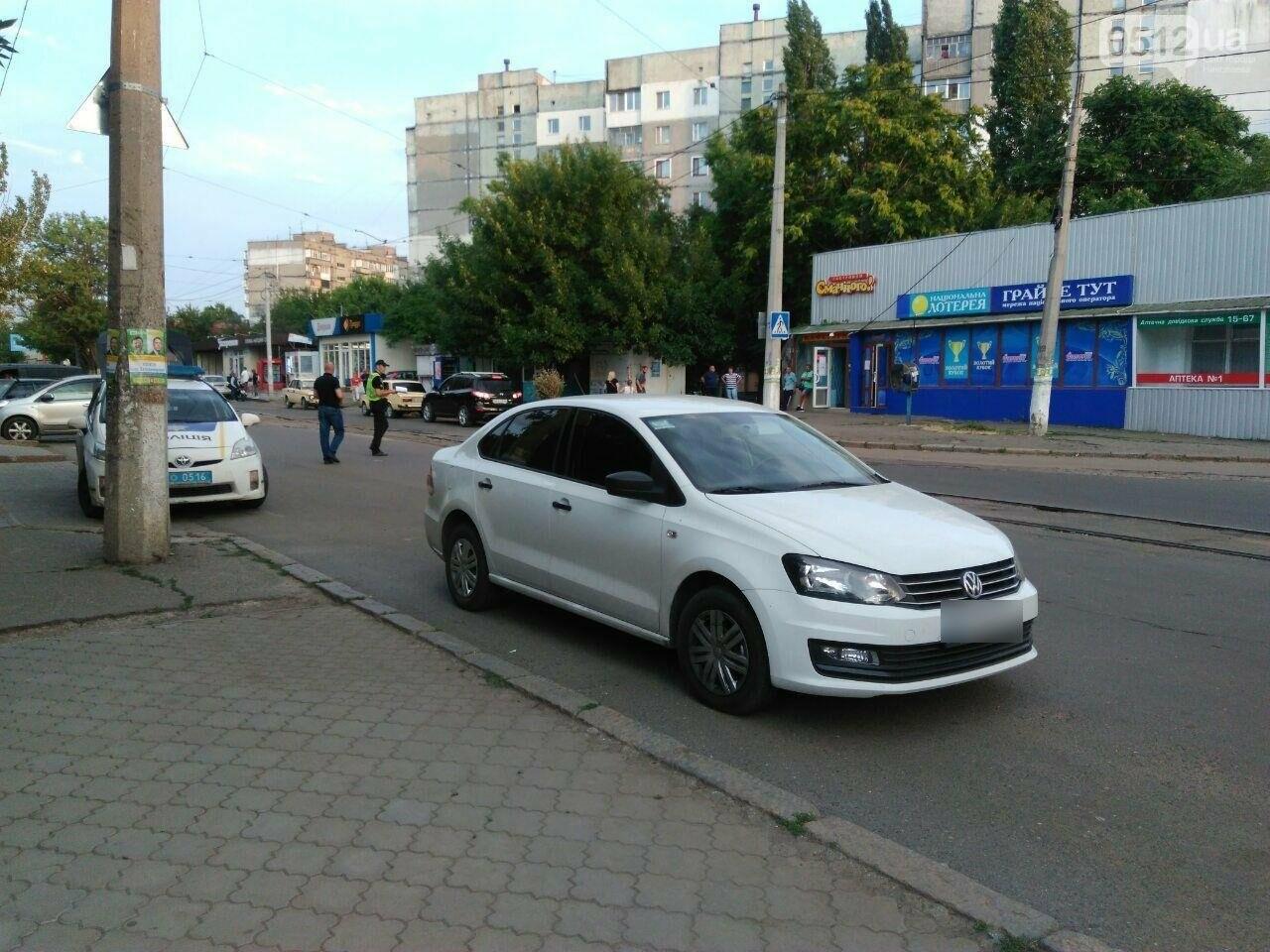 В Николаеве мотоциклист разбил зеркало на автомобиле и скрылся с места ДТП, - ФОТО, фото-2