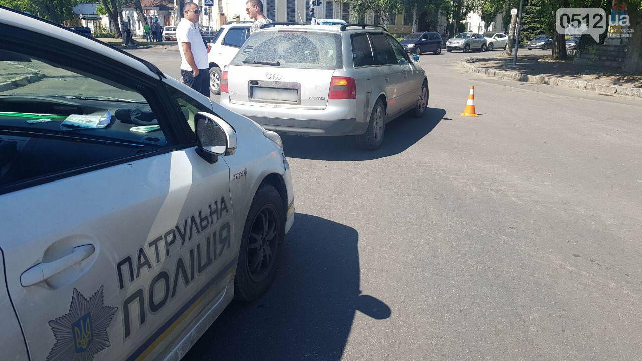 """В Николаеве возле """"Каприки"""" столкнулись две иномарки, - ФОТО, ВИДЕО, фото-1"""