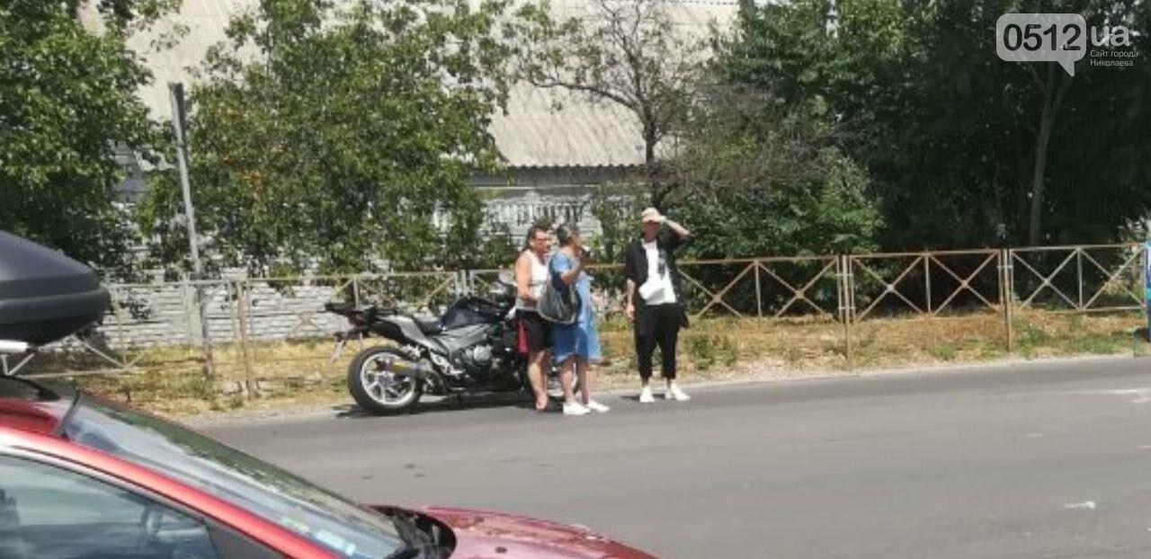"""В Николаеве напротив """"Эпицентра"""" мотоциклист влетел в Daewoo, - ФОТО, фото-4"""
