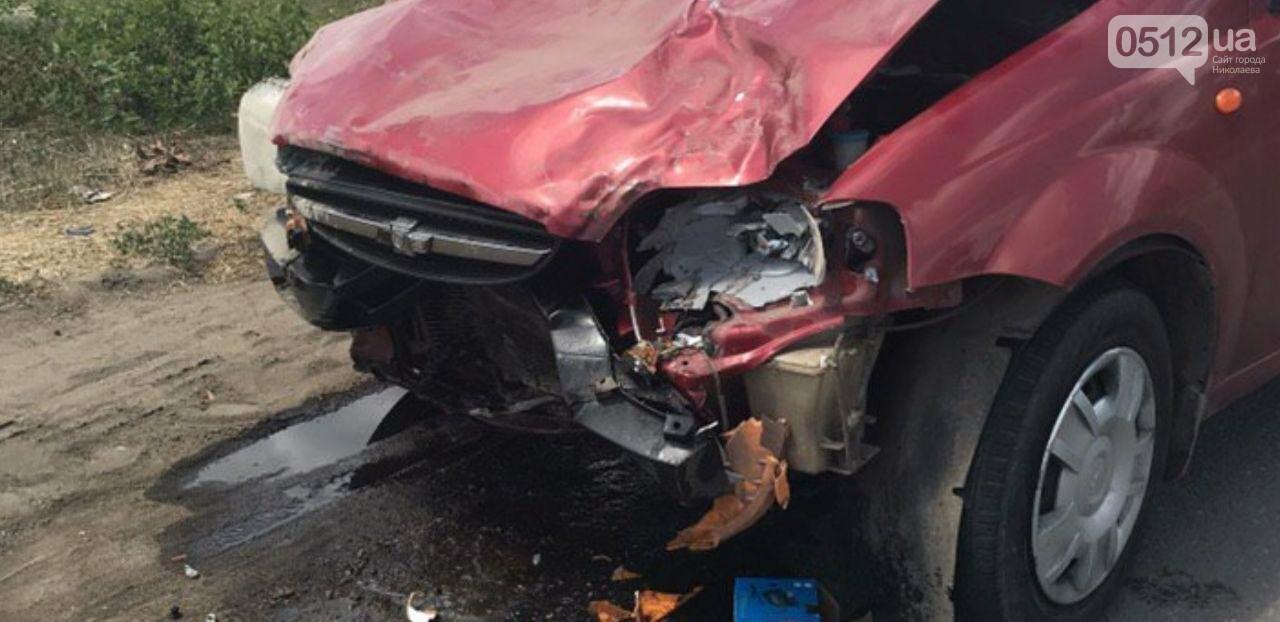 На Николаевщине в Новой Одессе Chevrolet протаранил Daewoo, - ФОТО, фото-5