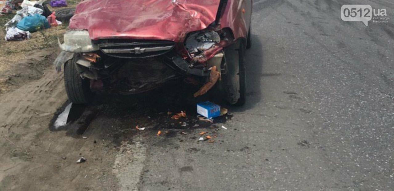На Николаевщине в Новой Одессе Chevrolet протаранил Daewoo, - ФОТО, фото-4