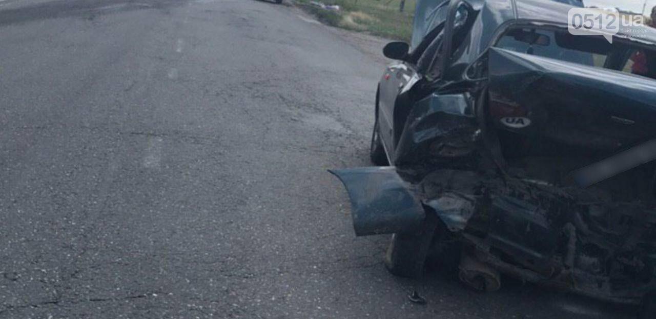 На Николаевщине в Новой Одессе Chevrolet протаранил Daewoo, - ФОТО, фото-1